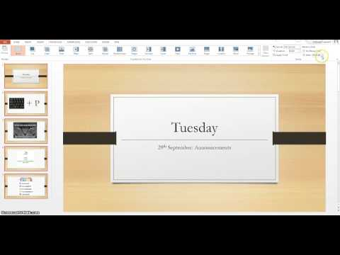 How to run PowerPoint on your projector and still use your laptop