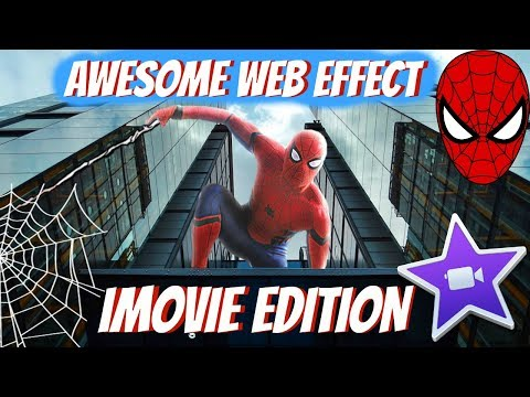 HOW TO MAKE A SPIDER-MAN WEB SHOOTING EFFECT IN IMOVIE (VERY EASY TUTORIAL)
