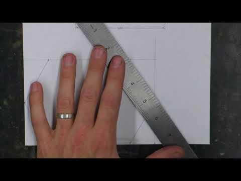 Angle Bracket Drawing Layout