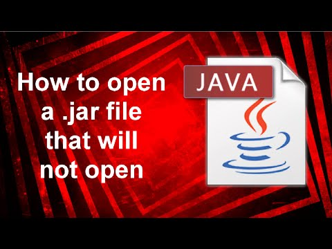 How to open a .jar file Windows 10