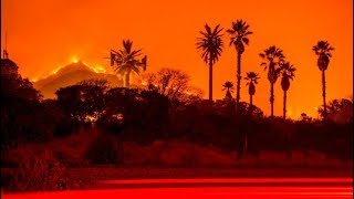 HORRIBLE Ventura County Fire: Más de 65.000 Hectareas se queman en California Sur