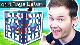 This Took 414 MINECRAFT DAYS in Minecraft Hardcore!
