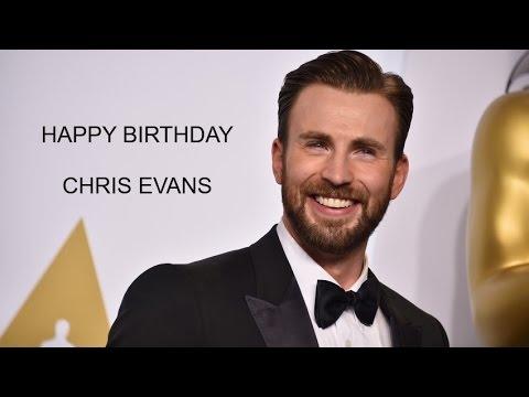 Happy Birthday Chris Evans | Birthday Video Greeting