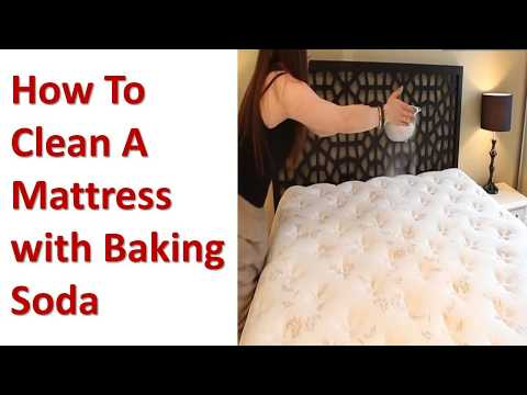 How To Clean A Mattress with Baking Soda