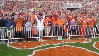 TigerNet.com - Clemson fans react to winning touchdown