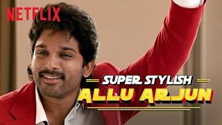 Allu Arjun Boardroom Dance Scene | Ala Vaikunthapurramuloo | Netflix India