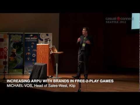 Increasing ARPU with Brands in Free-2-Play Games | Michael VOS