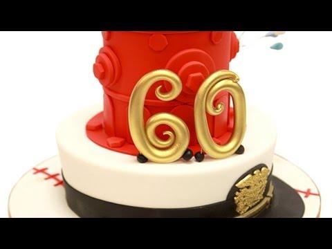Fire Hydrant Birthday Cake