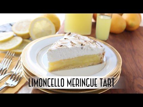 Limoncello Meringue Tart