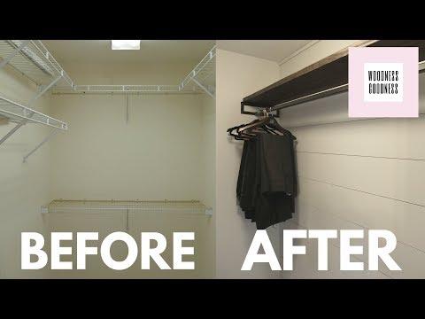 Simple DIY Closet Makeover