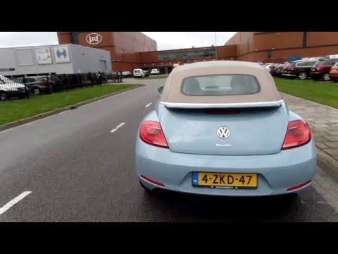 Volkswagen NEW Beetle 1,4TSi 160pk DSG 2016 Babyblauw met Beige Kap