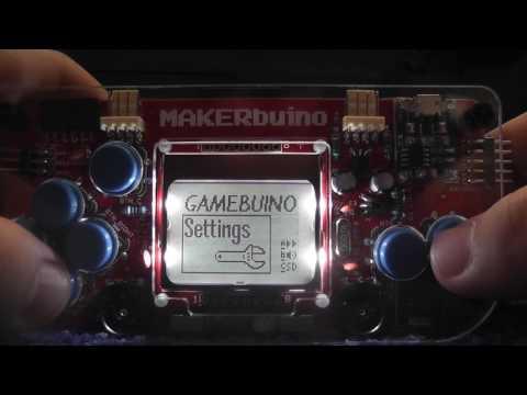 A Look At The Makerbuino DIY Console