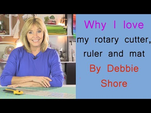 Why I love my rotary cutter! by Debbie Shore
