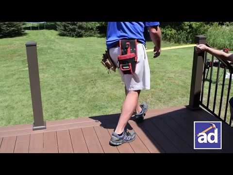 AFCO Series 300 Railing Installation