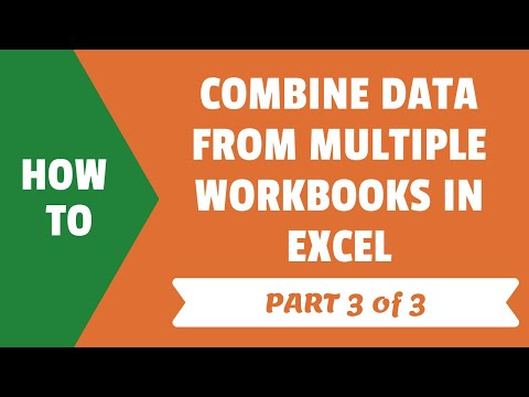 Combine Multiple Workbooks In Excel with Power Query (Part 3 of 3)