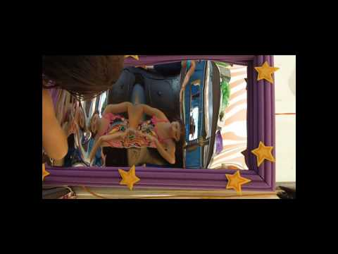 Funhouse Mirror at Castle in The Sand Hotel