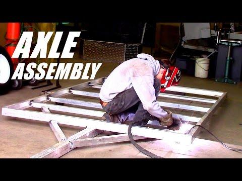 Building Custom Aluminum Trailer