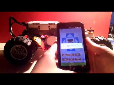 Legho Mindstorm NXT fast racing car