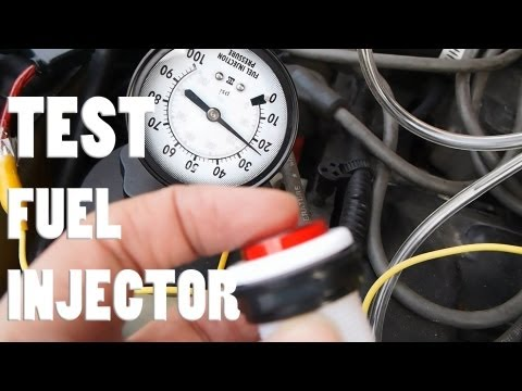 Test your fuel injector (easy) any car-Mustang GT