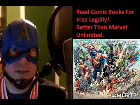 Read Comic Books Free, Legally! -Better Than Marvel Unlimited