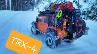 Traxxas Defender TRX-4 Orange - GoPro 8