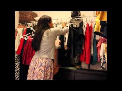 Organizing my closet - 10 minutes - Easy organizing