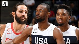 Download USA vs Spain - Full Game Highlights - August 16, 2019 | USA Basketball Video