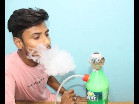 How to Make a  shisha Hookah out of a Bottle for sprite.