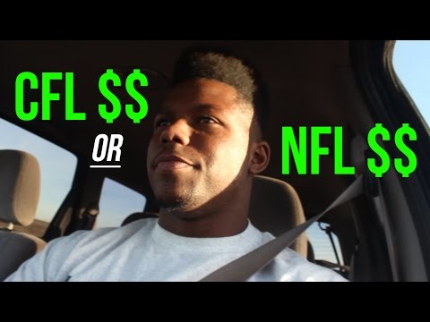 CFL vs. NFL Salary $$ | How Much Do Pro Football Players Get Paid? | EnjoyTheGrind | Enjoy The Grind