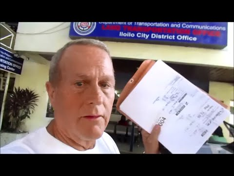 My Motorcycle Adventure  ~ Philippines LTO, motorcycle registration, driver's license ~ Video 1 of 2