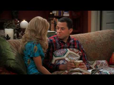 [HD] Two and a Half Men - David Copperfield Slipped Me a Roofie S6E14 Last Scenes