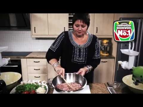 How to Make Traditional Boerewors in 5 Easy Steps   with Jenny Morris