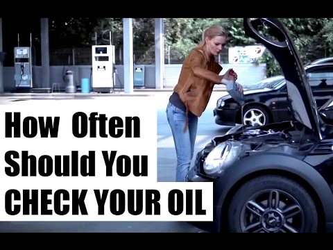 HOW OFTEN: To Check Your Engine Oil Level