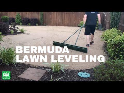 Bermuda Lawn Leveling