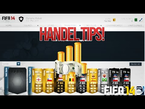 FIFA 14 Ultimate Team | Handel Tips! | Healing Cards