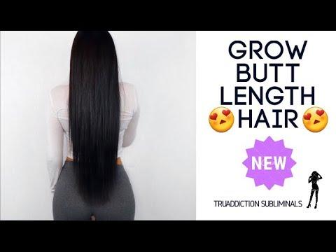 Grow BUTT LENGTH HAIR Fast😍(NEW FORMULA)~TruAddiction Subliminals💋