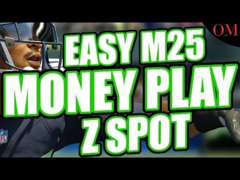 Madden 25 Next Gen Money Play | Z Spot | Offense Tips | Operation Madden