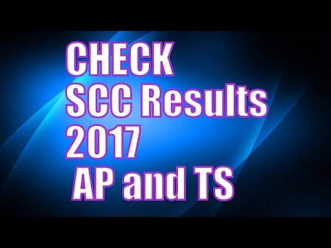 Check SCC Results Online AP and Telangana 2017 (Links in Description)
