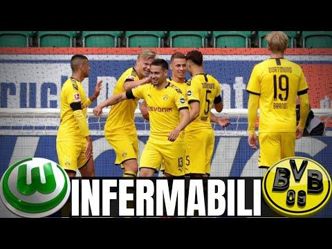 IL DORTMUND VINCE ANCORA! HAVERTZ MOSTRUOSO! Wolfsburg-Borussia Dortmund 0-2