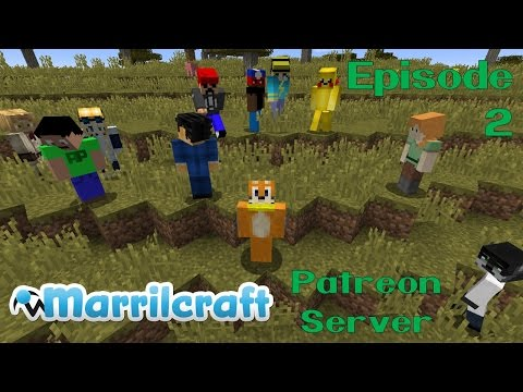 Marrilcraft Patreon Server Episode 2 - Setting Up A Temporary Home
