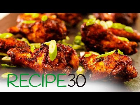 Hot and Spicy Garlic Chicken Wings