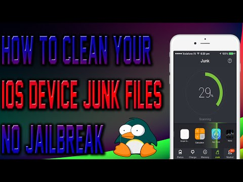HOW TO CLEAN YOUR IOS DEVICE (JUNK) NO JAILBREAK!