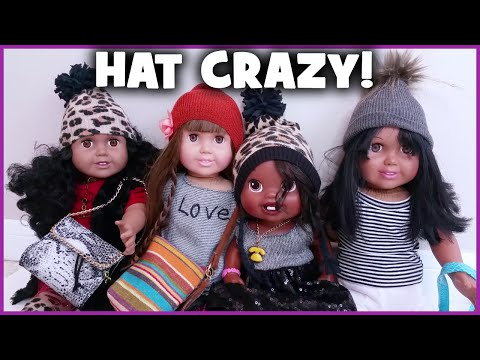 DIY Easy Winter Hats for Dolls | Baby Alive & AG type | BlueprintDIY Kids
