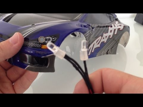 How To: Install RC Lights On To Your Body And Connect To The Receiver