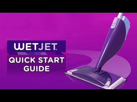 How to use a Swiffer WetJet: Quick Start Guide | Swiffer