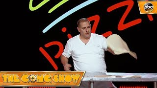 Pizza Tosser – The Gong Show