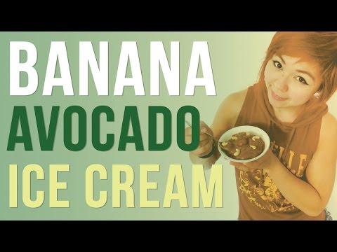 Banana Avocado Nice Cream | Healthy Ice Cream Recipe