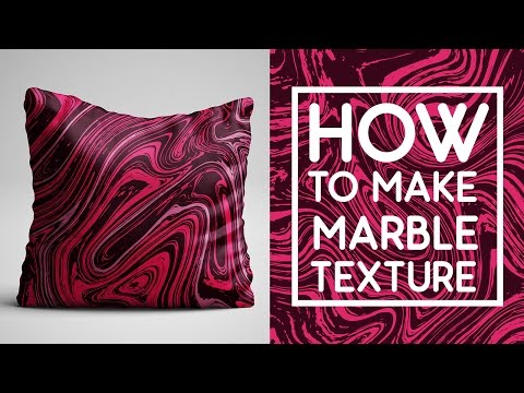 How To Make Liquid Marble Texture in Photoshop and Illustrator