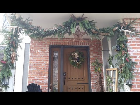 How To:  Making a Fresh Greens Garland