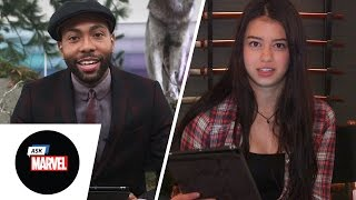 Ask Marvel: Amber Midthunder and Jeremie Harris from Legion on FX